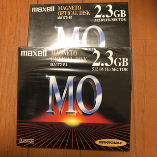 maxell - 生産終了品 maxell MOディスク MA172-S1 2枚セット