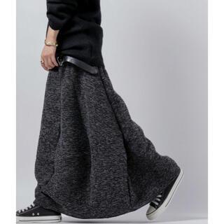 アンティカ(antiqua)のアンティカ ツイード変形スカート(ロングスカート)
