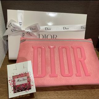 Dior - Dior【2021春 最新ノベルティ】ピンクポーチ 新品未使用