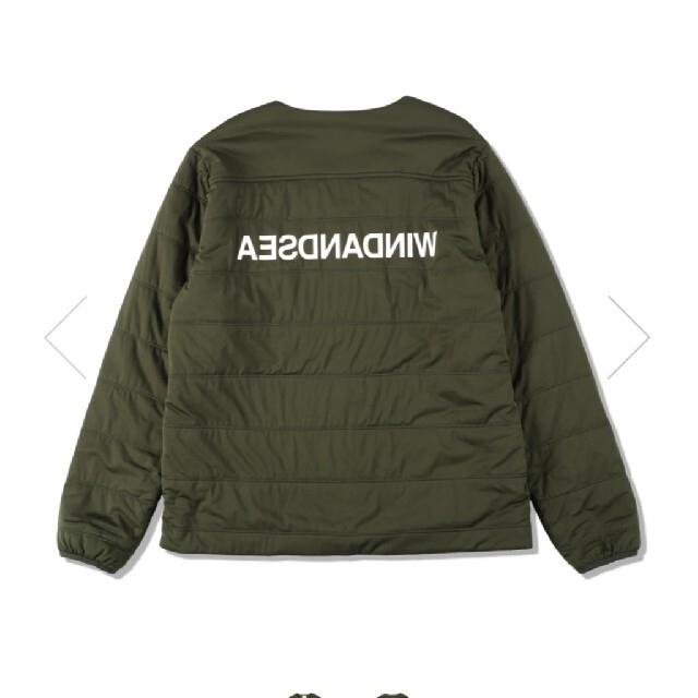 Snow Peak(スノーピーク)のSNOW PEAK × WDS FLEXIBLE INSULATED メンズのジャケット/アウター(ダウンジャケット)の商品写真
