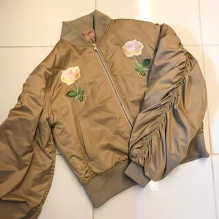 ハニーミーハニー(Honey mi Honey)の【Honey mi Honey】Satin Rose Blouson(ブルゾン)