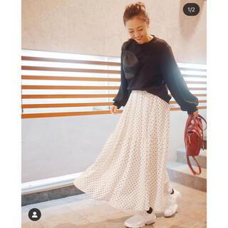 チェスティ(Chesty)のmyine♡ドットロングスカート(ロングスカート)