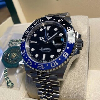 ROLEX GMTマスター 126710 BLN