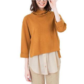 フェリシモ(FELISSIMO)のリブイン コンフォート ちょいたしコーデ💖 とろみシャツ(シャツ/ブラウス(長袖/七分))