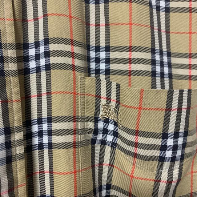 BURBERRY(バーバリー)の希少 BURBERRY バーバリー チェックシャツ メンズのトップス(シャツ)の商品写真