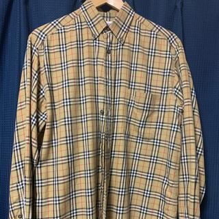 バーバリー(BURBERRY)の希少 BURBERRY バーバリー チェックシャツ(シャツ)