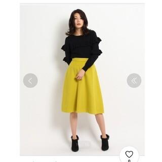 アクアガール(aquagirl)のエージーバイアクアガール シャギーフレアスカート Mサイズ(ひざ丈スカート)