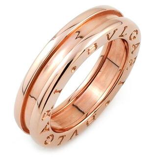 ブルガリ(BVLGARI)のブルガリ  リング 指輪  ビーゼロワン B-zero1   ピンク(リング(指輪))