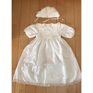 【送料込】お宮参り ベビードレス 赤ちゃんの城 一度着用品(セレモニードレス/スーツ)