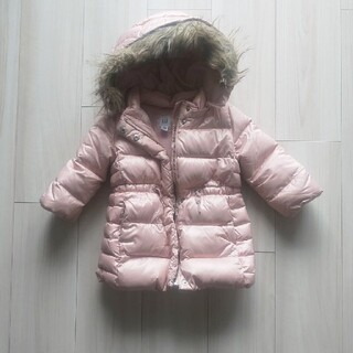babyGAP - babyGAP 女の子 ダウンコート 90サイズ