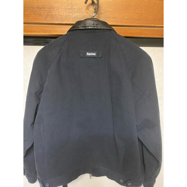 Supreme(シュプリーム)のSupreme leather collar work jacket メンズのジャケット/アウター(ブルゾン)の商品写真