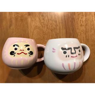 スターバックスコーヒー(Starbucks Coffee)のスターバックス・だるまマグカップセット(マグカップ)