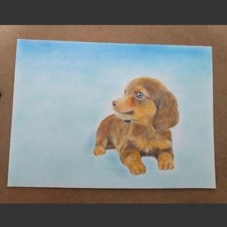 ☆チワックス色鉛筆画(絵画/タペストリー)