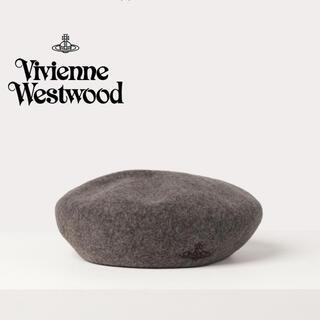 ヴィヴィアンウエストウッド(Vivienne Westwood)のヴィヴィアン・ウエストウッド ORB刺繍 バスクベレー(ハンチング/ベレー帽)