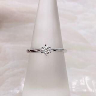 ニワカ(俄)の★NIWAKA★ 俄 花雪 ダイヤリング 婚約指輪 D0.22ct(リング(指輪))