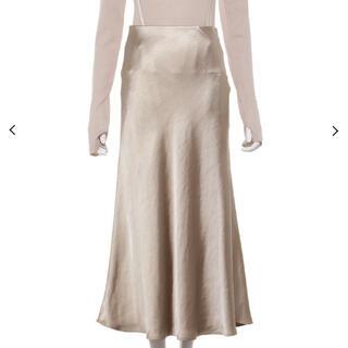 Mila Owen - 2020AW サテンナローロングスカート