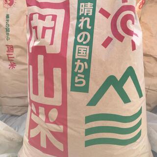 減農薬栽培 コシヒカリ 玄米24キロ(米/穀物)