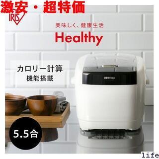 ☆ 炊飯器 5.5合 IH 米屋の旨み 銘柄量り炊きIHジ ヤマ アイリス 27(その他)