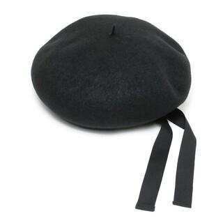アンユーズド(UNUSED)のUNUSED 18SS BERET ウール ベレー帽 UH0465(ハンチング/ベレー帽)
