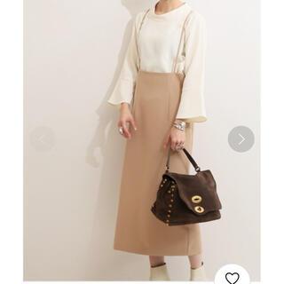 ノーブル(Noble)のショルダーストラップサロペットスカート(ロングスカート)