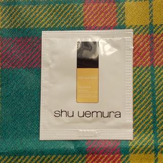 シュウウエムラ(shu uemura)のshu uemura ファンデーションサンプル(ファンデーション)