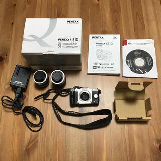 PENTAX - PENTAX Q10 ダブルズームキット ミラーレス一眼レフカメラ