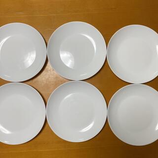 ヤマザキセイパン(山崎製パン)のヤマザキ  白いお皿 23cm  6枚(食器)