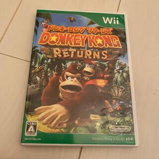 ウィー(Wii)のWii ドンキーコング リターンズ(家庭用ゲームソフト)
