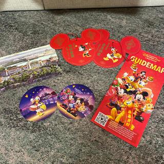 ディズニー(Disney)の上海ディズニーガイドマップ/シール(印刷物)