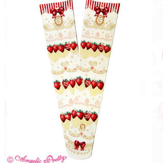 Angelic Pretty - Angelic Pretty melty berry princess ソックス