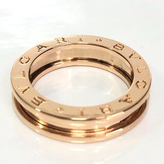 ブルガリ(BVLGARI)の【超美品】BVLGARI ブルガリ ビーゼロワン K18PG 1バンド リング(リング(指輪))
