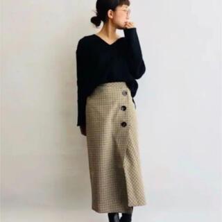 ザラ(ZARA)のザラ 巻きスカート 美品(ロングスカート)