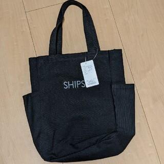 シップス(SHIPS)のサイドポケットトートバッグソリッド(バッグ)