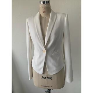 bcbg maxazria テラードジャケット 白