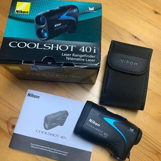 ニコン(Nikon)のNIKON クールショット40i レーザー距離計(ゴルフ)