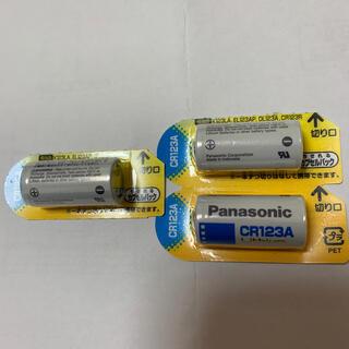 パナソニック(Panasonic)のPanasonic パナソニック CR123A リチウム電池3個!(その他)