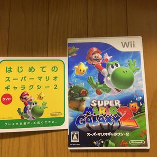 ウィー(Wii)の美品 wii スーパーマリオギャラクシー2(家庭用ゲームソフト)