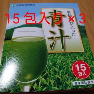 乳酸菌が入った青汁(青汁/ケール加工食品)