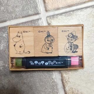 Little Me - ムーミン  サンスター  木製スタンプ  リトルミー