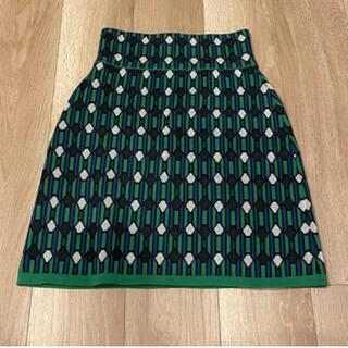 スライ(SLY)のSLY 幾何学柄タイトスカート(ひざ丈スカート)