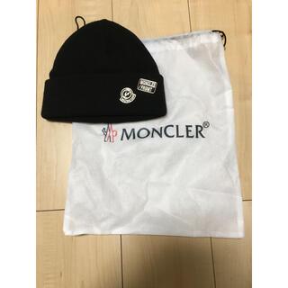 モンクレール(MONCLER)のMONCLER×FRAGMENT ニット帽 (ニット帽/ビーニー)