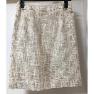 ロペピクニック(Rope' Picnic)のロペピクニック ツイードタイトスカート(ひざ丈スカート)