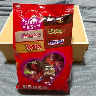 エムアンドエムアンドエムズ(m&m&m's)のアメリカ菓子 バレンタインチョコレート バラエティーパックセット 総量1500g(菓子/デザート)
