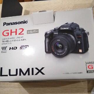 パナソニック(Panasonic)のPanasonic DMC−GH2 DMC-GH2K-S(ミラーレス一眼)