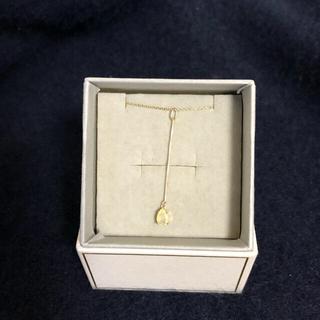 アネモネ 天然石 オパールの10kのネックレス 美品