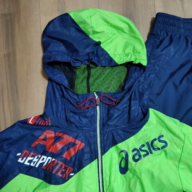 asics(アシックス)のasics  ウエアー上下 Lサイズ スポーツ/アウトドアのランニング(ウェア)の商品写真