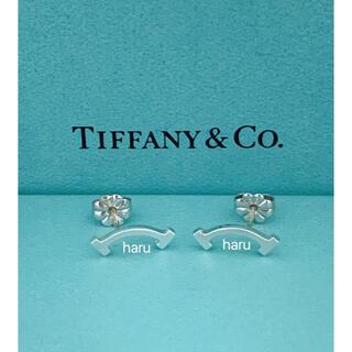 Tiffany & Co. - TIFFANY&Co. ティファニー Tスマイル ピアス シルバー