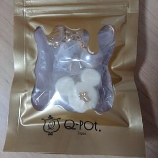 キューポット(Q-pot.)のミッキーマウス リュクスショコラ バッグチャーム ホワイト(キャラクターグッズ)