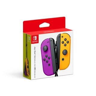 ニンテンドースイッチ(Nintendo Switch)の新品未使用Switch!Joy-Con(L)ネオンパープル/(R)ネオンオレンジ(その他)