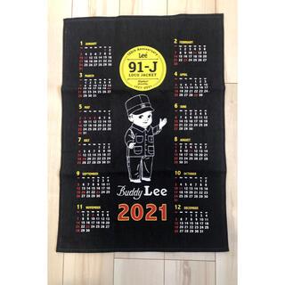 リー(Lee)のLee ノベルティ デニムカレンダー 2021(カレンダー/スケジュール)